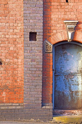 Back Entrance Original by Lloyd Scott