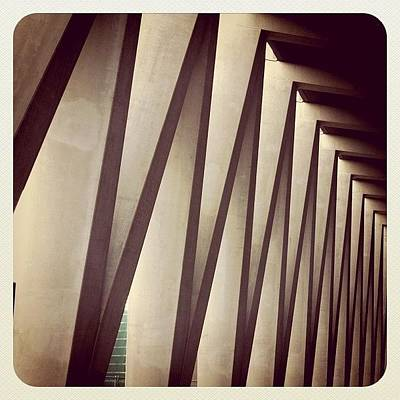 Abstract Wall Art - Photograph - Back Entrance. #minthotel #oosterdok by Robbert Ter Weijden