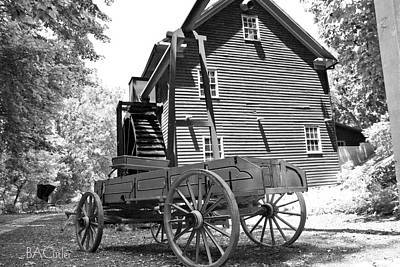 Wagon Photograph - Back In The Days by Betsy Knapp