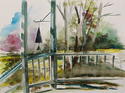 Back Porch Painting - Back Porch by John Williams