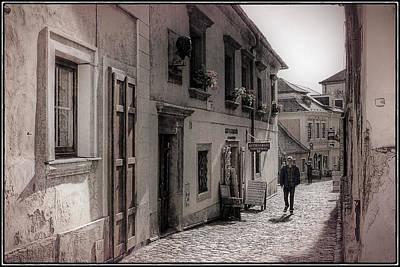 Prague Photograph - Back Street Boy by Joan Carroll