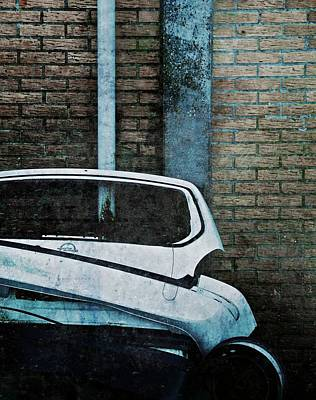 Back To The Wall Art Print by Odd Jeppesen