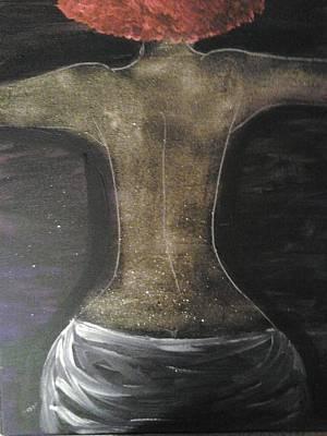Painting - Back by Violette L Meier
