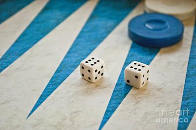 Backgammon Art Print