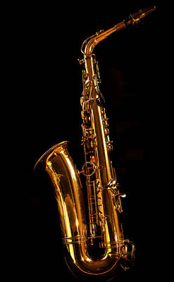 Photograph - Backside Of My Sax by Jean Noren