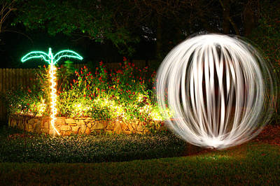 Photograph - Backyard Ball Of Light by Rich Franco