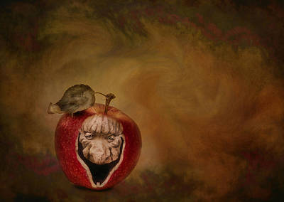 Photograph - Bad Apple by Robin-Lee Vieira