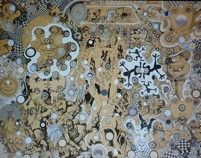 Mixed Media - Bad Craziness by Douglas Fromm