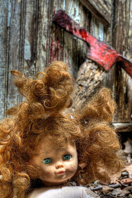 Photograph - Bad Hair Day by JC Findley