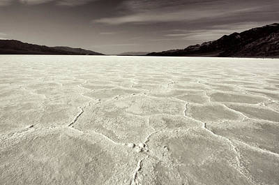 Bad Water Death Valley Art Print