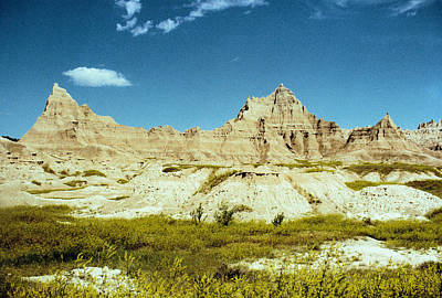 Photograph - Badlands In Yellow by Jan Amiss Photography