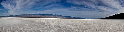 Photograph - Badwater Salt Flats by Joe  Palermo