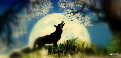 Badwolf Art Print