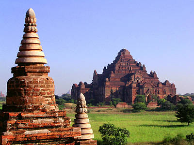 Bagan Temple Art Print