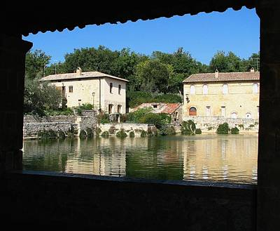 Photograph - Bagno Vignoni by Diane Height