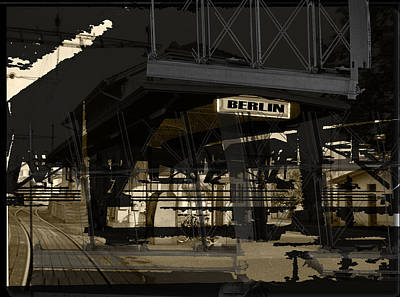 Photograph - Bahnhof Berlin by Doug Duffey
