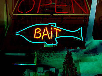 Photograph - Bait by Kathleen Grace