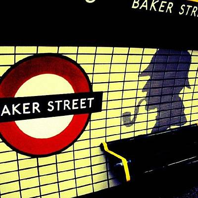 Baker Street Station, May 2012 | Art Print by Abdelrahman Alawwad