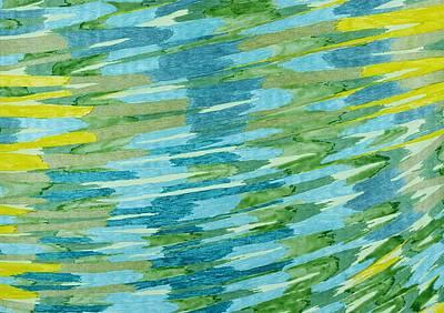 Drawing - Baker Wetlands by Lesa Weller