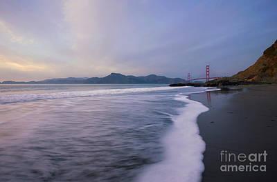 California Photograph - Bakers Beach At Sunset by Matt Tilghman