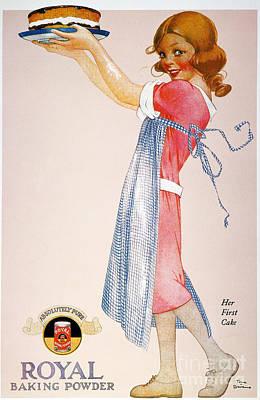 Photograph - Baking Powder Ad, 1920 by Granger