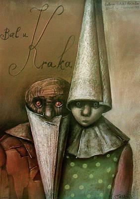 Mixed Media - Bal U Kraka by Stasys Eidrigevicius