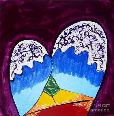 Chakra Rainbow Painting - Balance And Love by Caroline Reyes