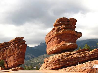Marilyn Photograph - Balanced Rock by Marilyn Smith