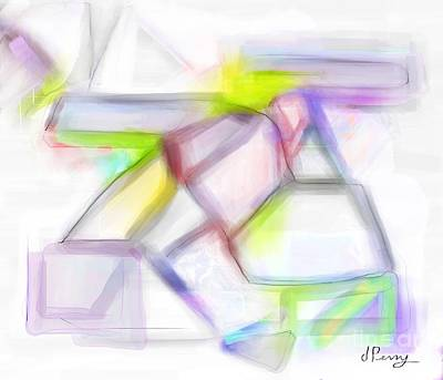 Digital Art - Balancing Act by D Perry