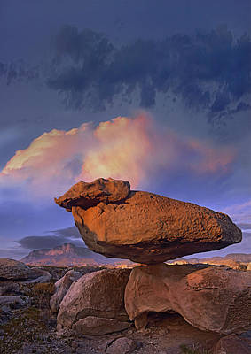 Photograph - Balancing Rock Formation, Guadalupe by Tim Fitzharris
