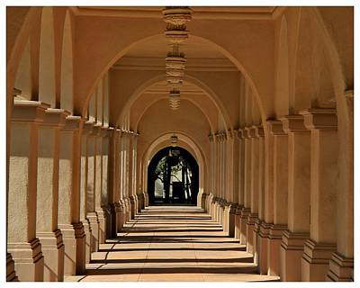 Balboa Passageway Art Print by Frank Wickham