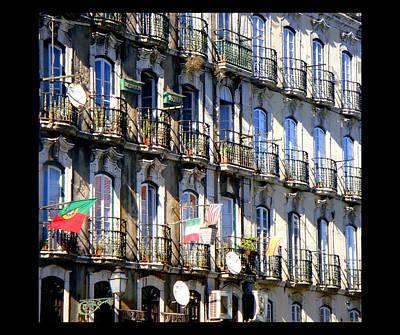 Balconies Art Print by Roberto Alamino