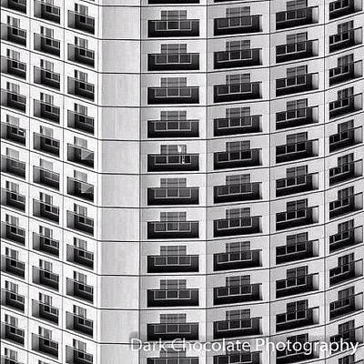 Surface Wall Art - Photograph - Balconies by Zachary Voo