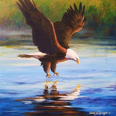 Painting - Bald Eagle by Sarah Grangier