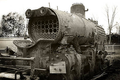 Photograph - Baldwin Locomotive by Scott Hovind