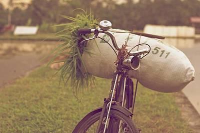 Photograph - Bali Bike by Valerie Rosen