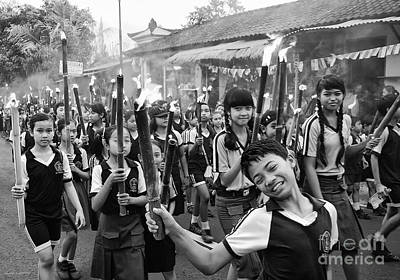 Photograph - Bali Festival by Charuhas Images