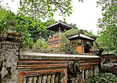 Photograph - Bali Museum Exterior Wall by Kirsten Giving