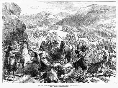 Balkan Insurgency, 1876 Art Print
