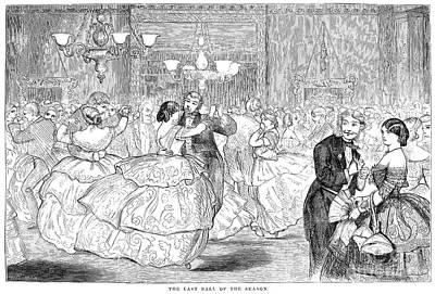 Ball, 1858 Art Print by Granger