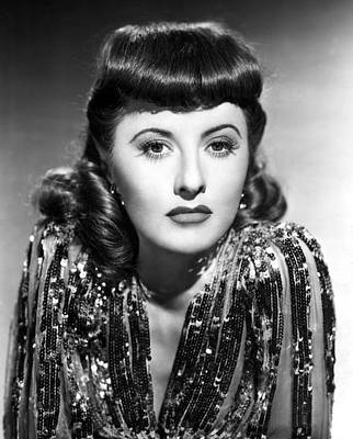 1941 Movies Photograph - Ball Of Fire, Barbara Stanwyck, 1941 by Everett