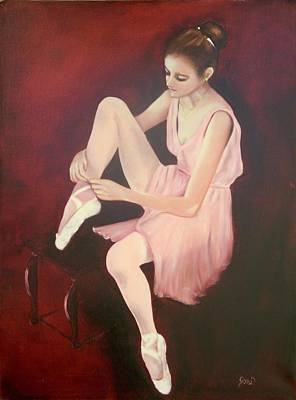 Painting - Ballerina by Joni McPherson