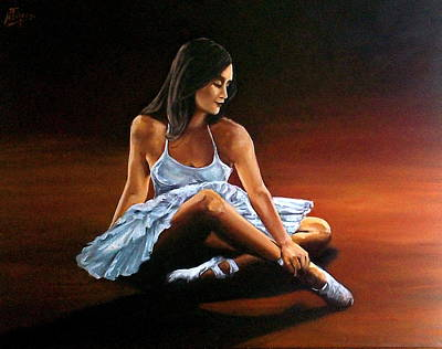Painting - Ballerina by Natalia Tejera