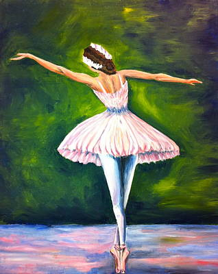 Ballerina Art Print by Tiffany Albright