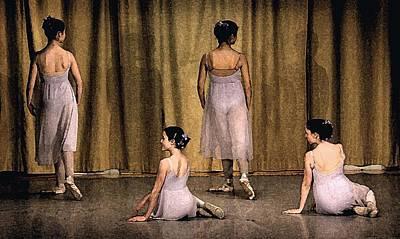 Ballerinas Art Print by Ercole Gaudioso