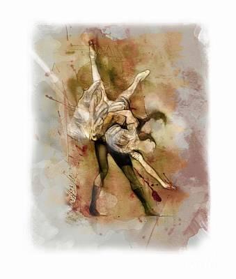 Dancer Mixed Media - Ballet by James Robinson