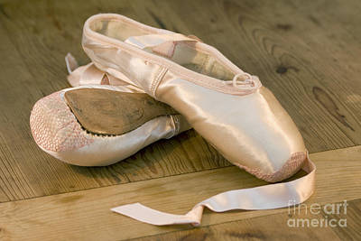 Ballet Shoes Art Print by Jane Rix