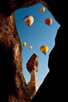 Photograph - Ballons by Okan YILMAZ