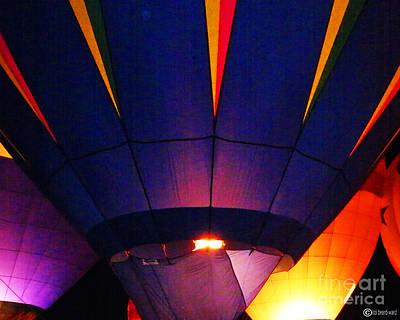 Digital Art - Balloon Blues by Lizi Beard-Ward