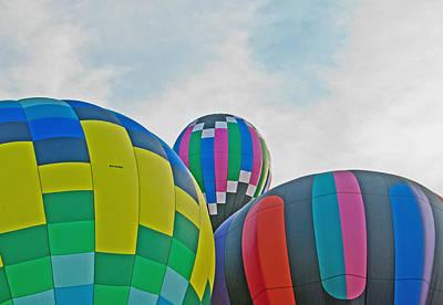 Balloon Cluster Art Print by Carolyn Meuer-Pickering of Photopicks Photography and Art